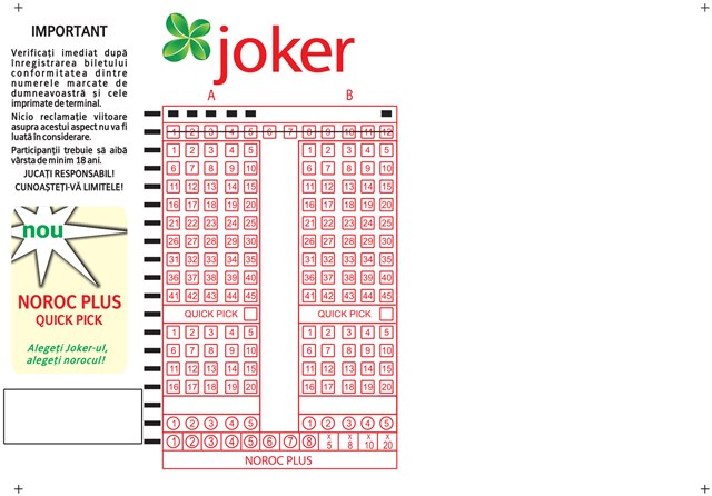 Overenie tipu - Joker - tipos, nrodn lotriov spolonos